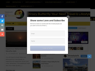 Publish your article on this HQ Luxury Travel website