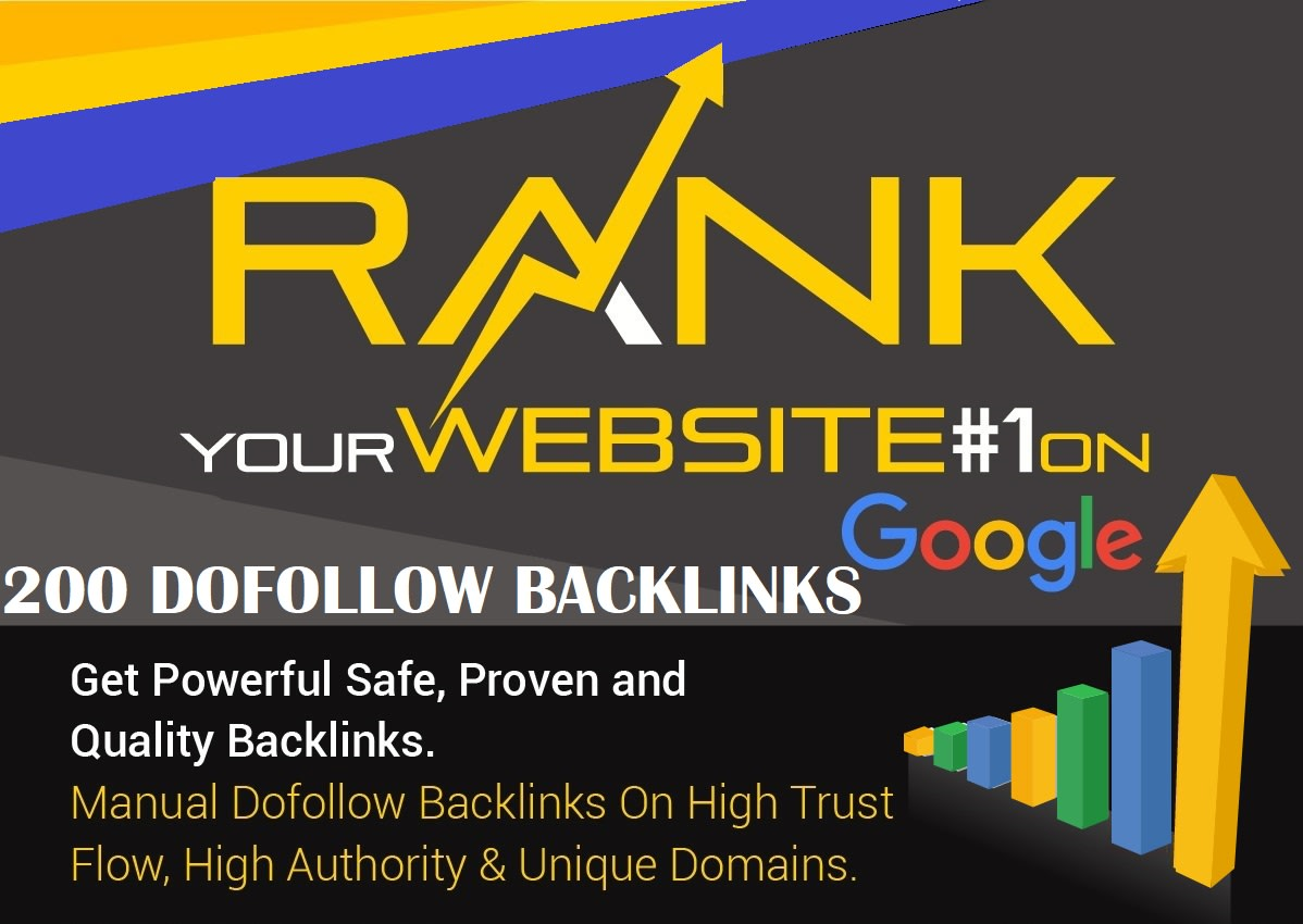 100 Unique Domain High Quality Backlinks Mix Properties Improves SEO In 2019