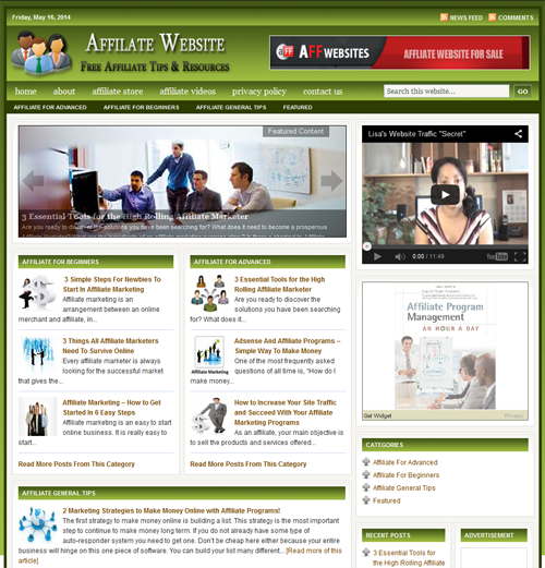 Fully Automated Wordpress Affiliate Marketing Website...
