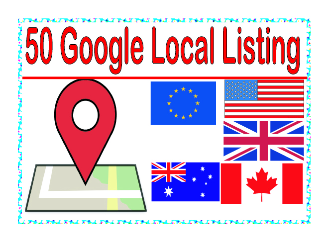 Do manually add your business details on the 50 TOP US-UK-CAD-AU-EU Citation Site to boost your google places listing
