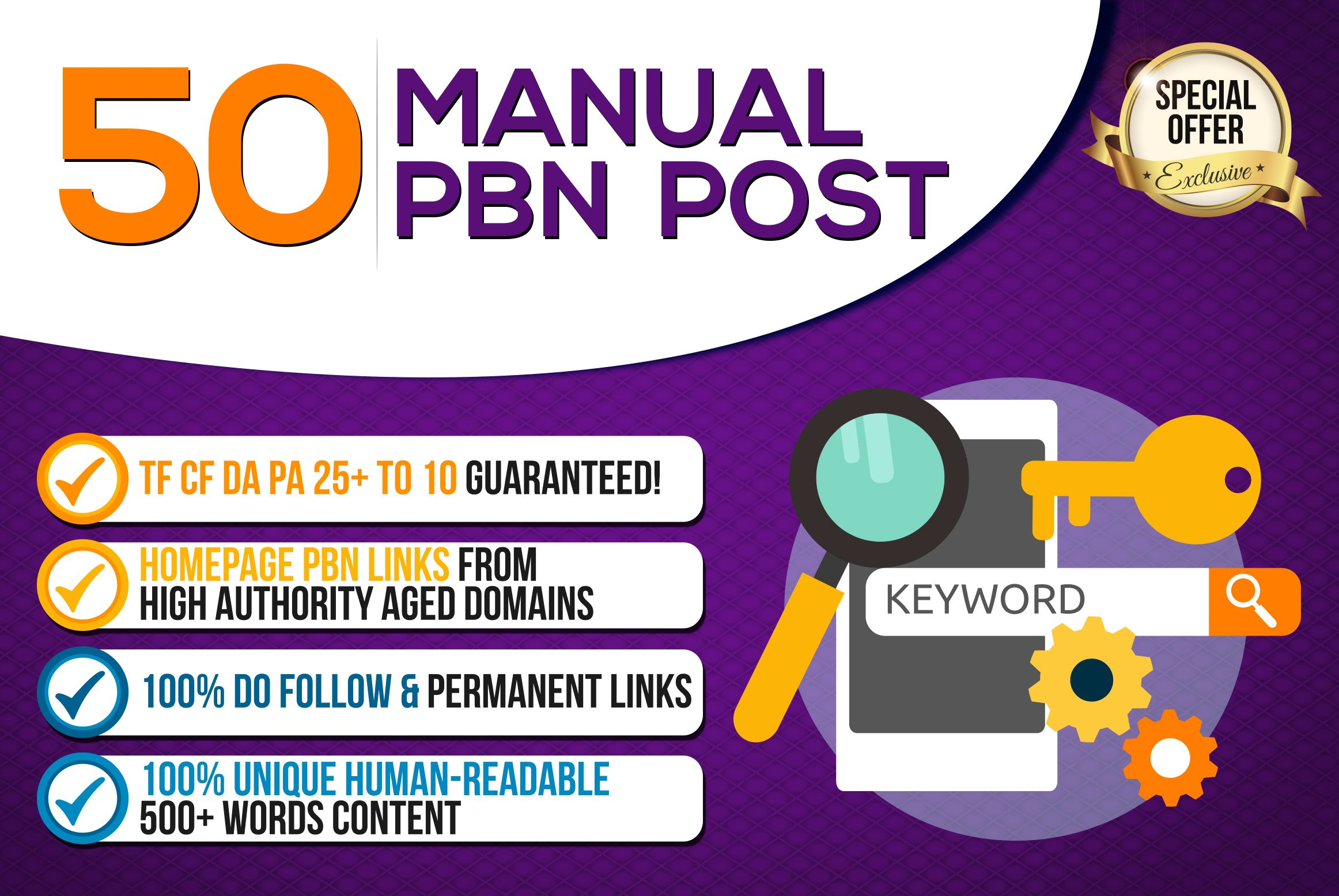 PBN Create 50+Blog Network backlinks with niche related articles and Indexing