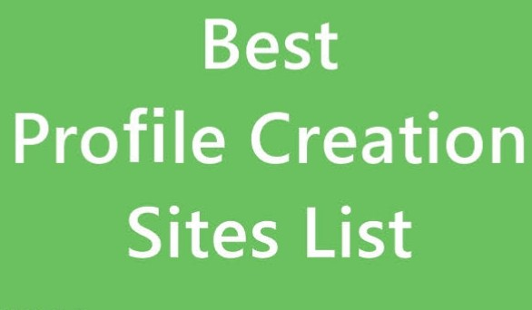Provide You 100+ Profile Backlinks Creation Sites Lis...