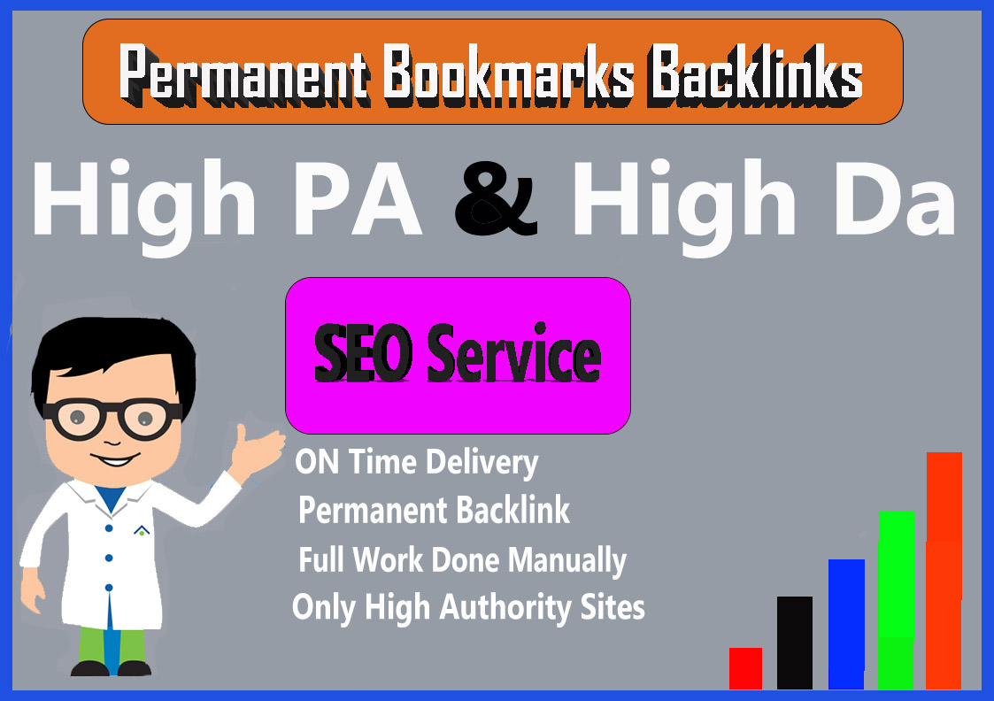 Manual Penguin Safe 20 High Authority Social Bookmarks Backlinks