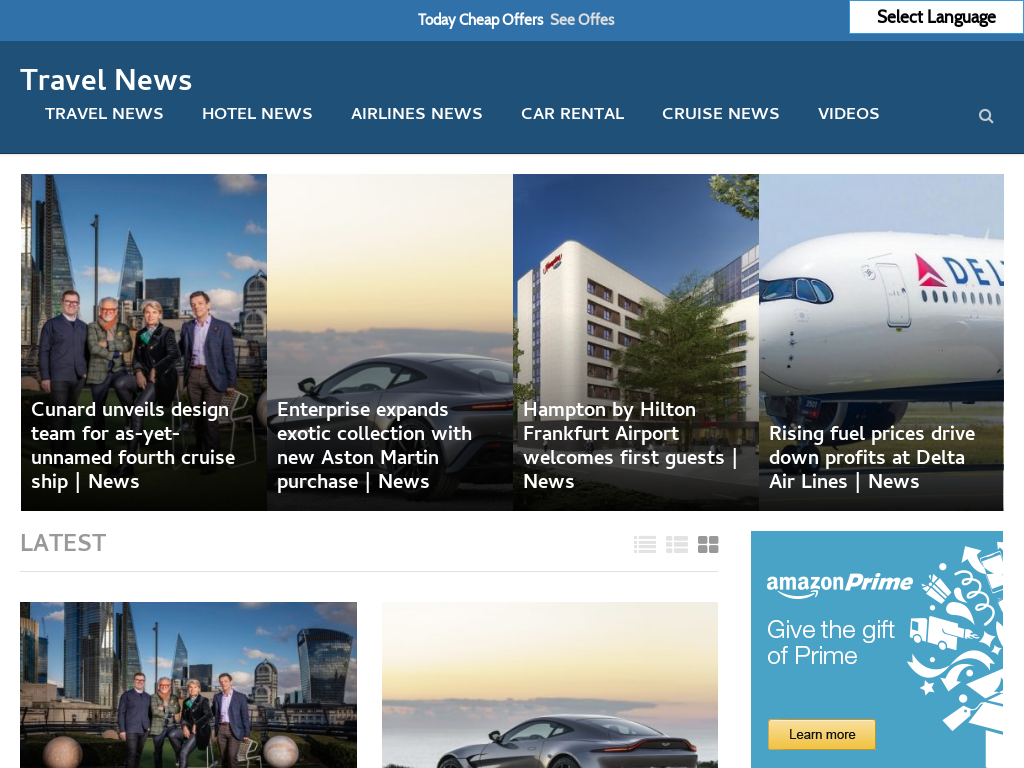 Automated Travel Blog Travel Autopilot News Website