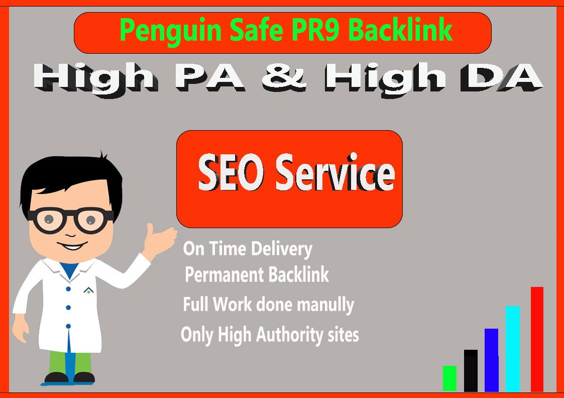 Manual Penguin Safe All Pr9 15 SEO High Profile Backl...