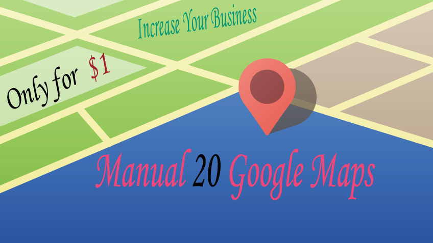 Manual 20 Live Google Map Citations For Local Busines...