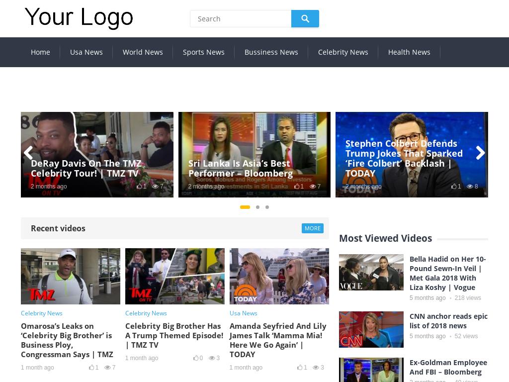 Automated News Videos Website AutoPilot