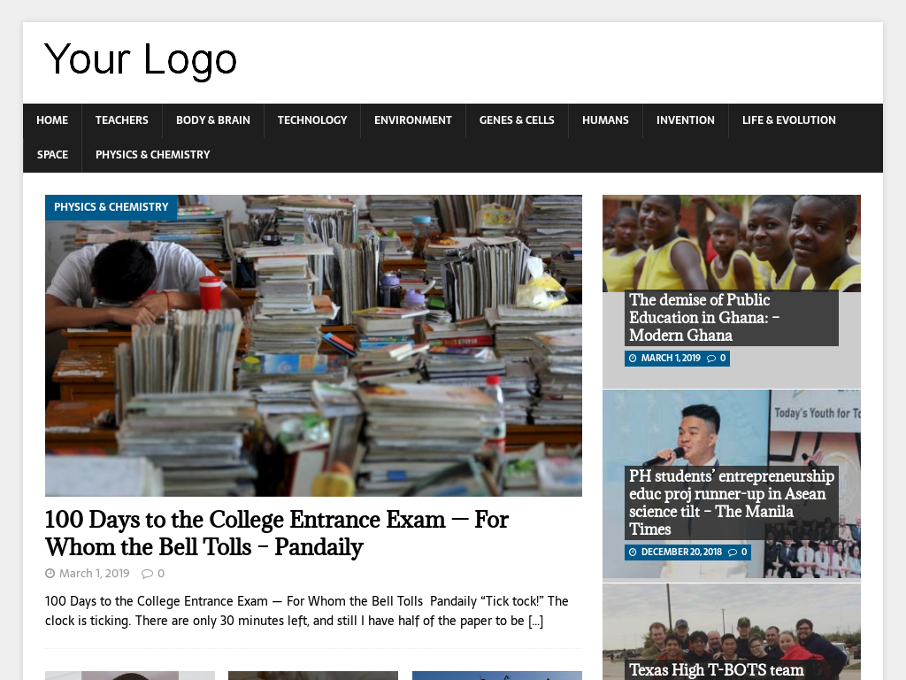 Automated Student News Videos Website AutoPilot