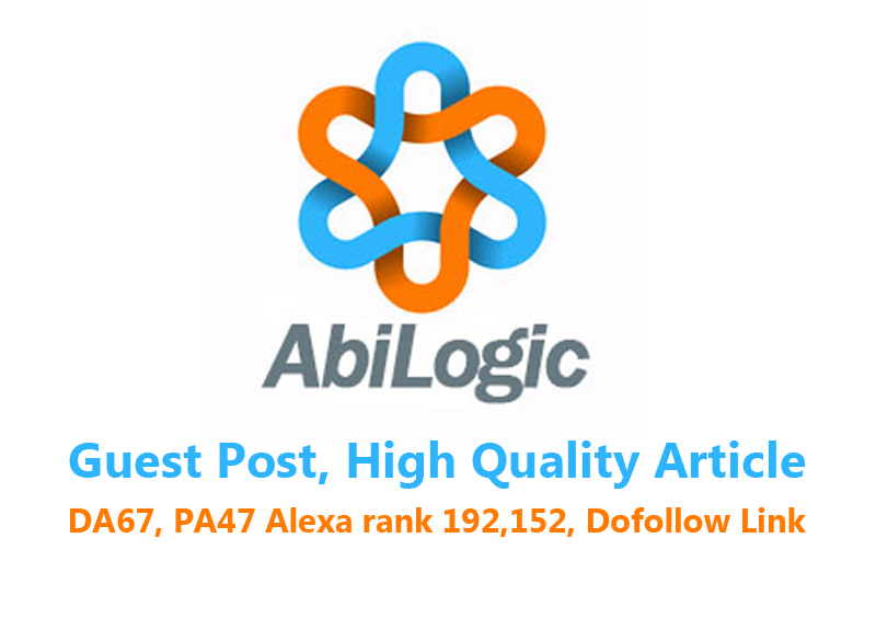 Publish a Guest Post on Abilogic. com with Your Website Link