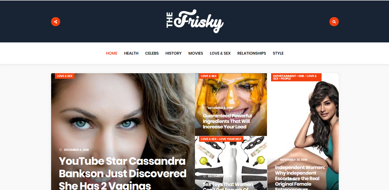 Publish A Premium Dofollow Guest Post On Google Magazine Approved Site Thefrisky.com