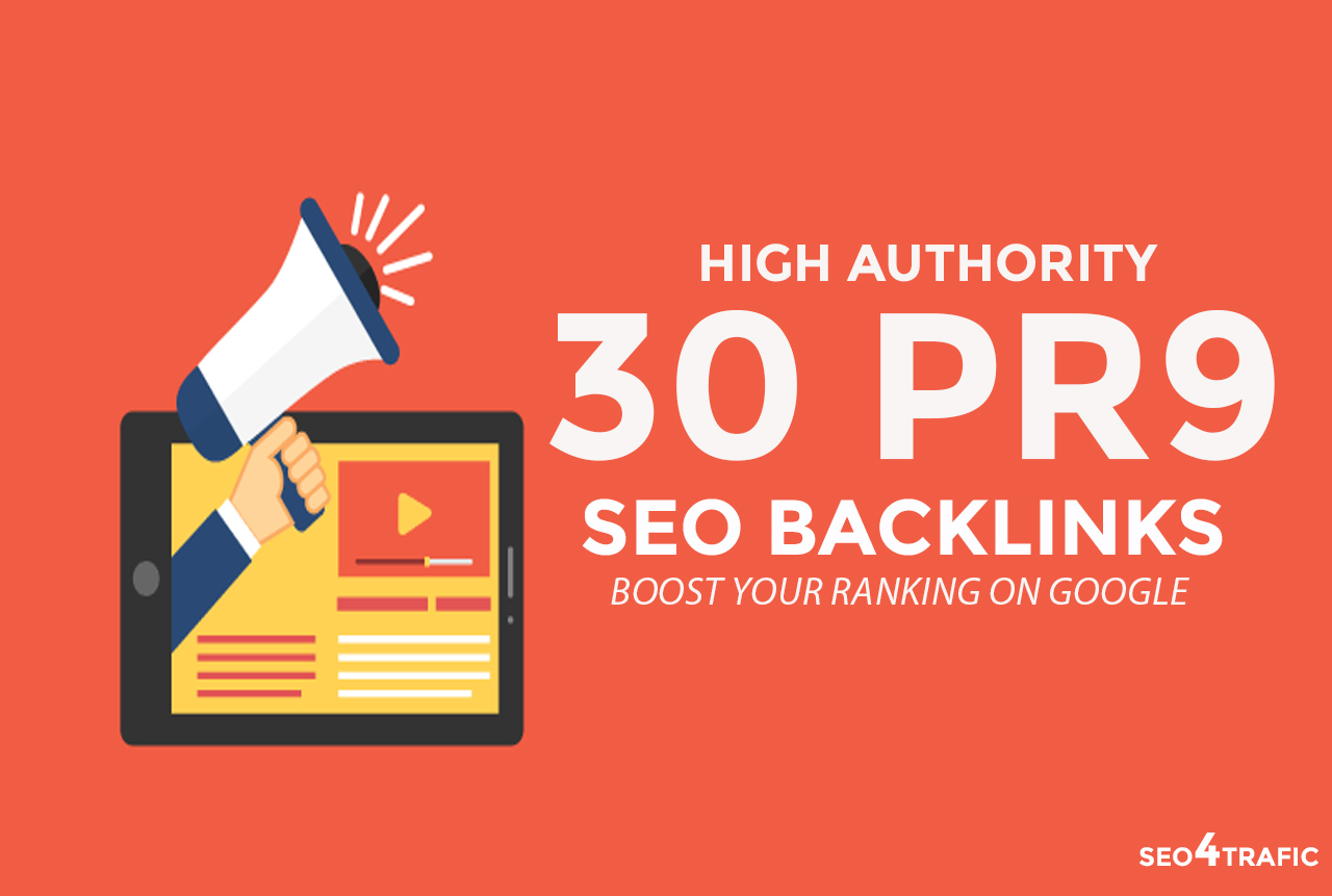 Create High PR 30 Pr9 Seo Backlinks To Improve Google...
