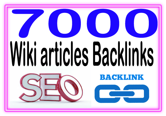 Create 7000 Wiki articles Highly Authorized Google Dominating Backlinks
