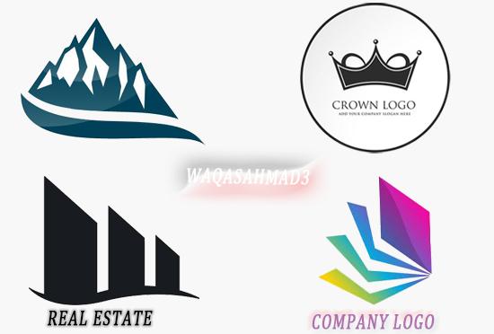 design a unique creative professional logo for business