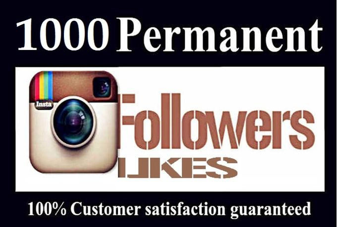 Deliver Instantly 1,000+ Instagram Quality Followers Or Likes Within 24 Hours