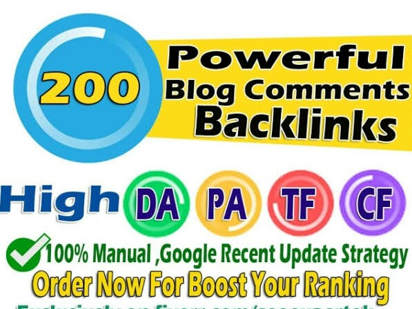 provide 200 blog comment and 100 blog comment free