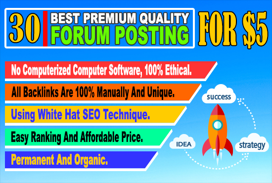 30 best pq keyword related manually forum posting bac...