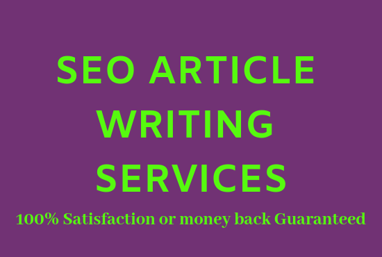 Do 1000 words SEO article writing, blog writing, co...