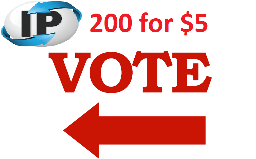 Get you 200 Different ip votes on your online poll voting contest