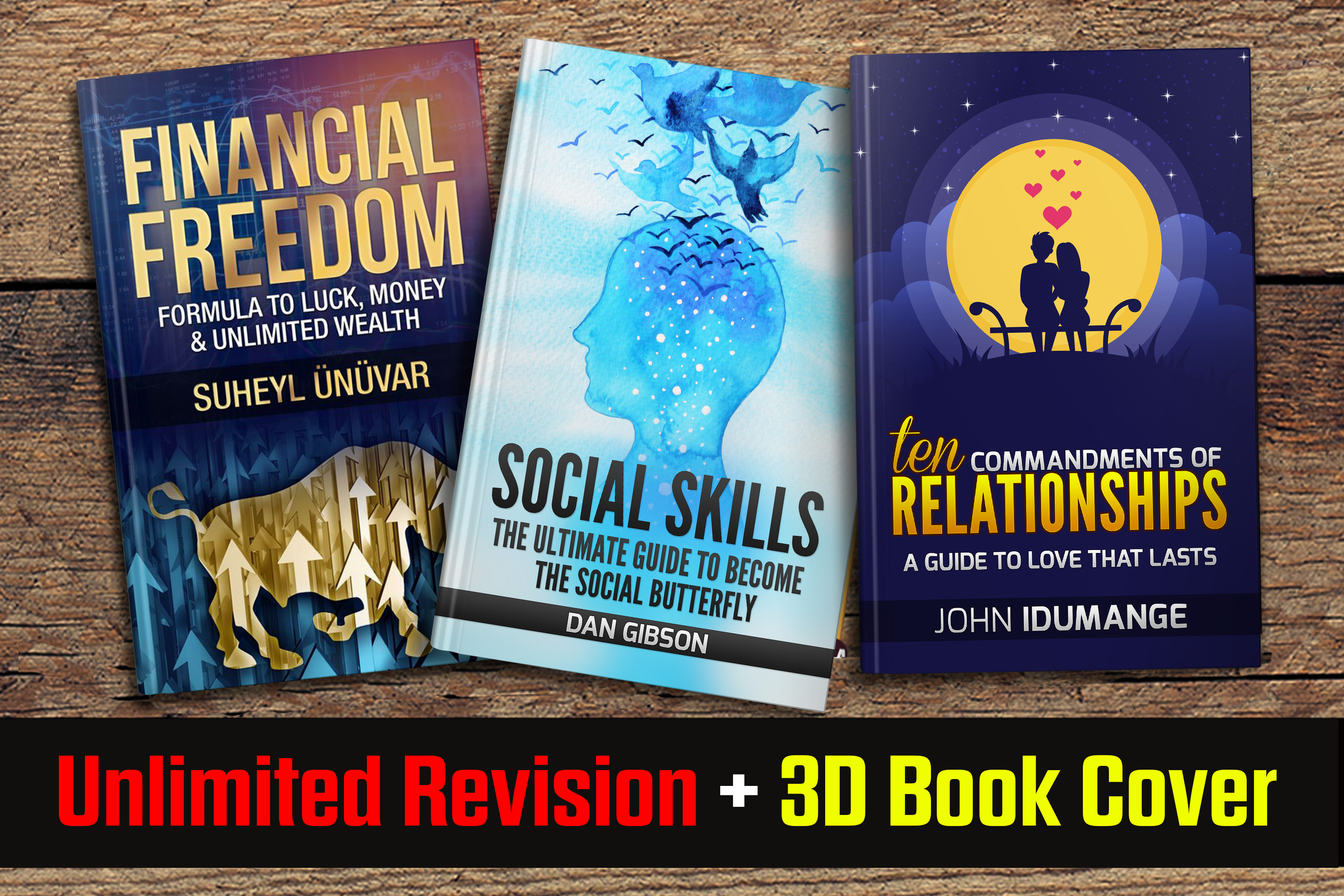 Design An Eye Catching Ebook Or Kindle Cover With Bon...