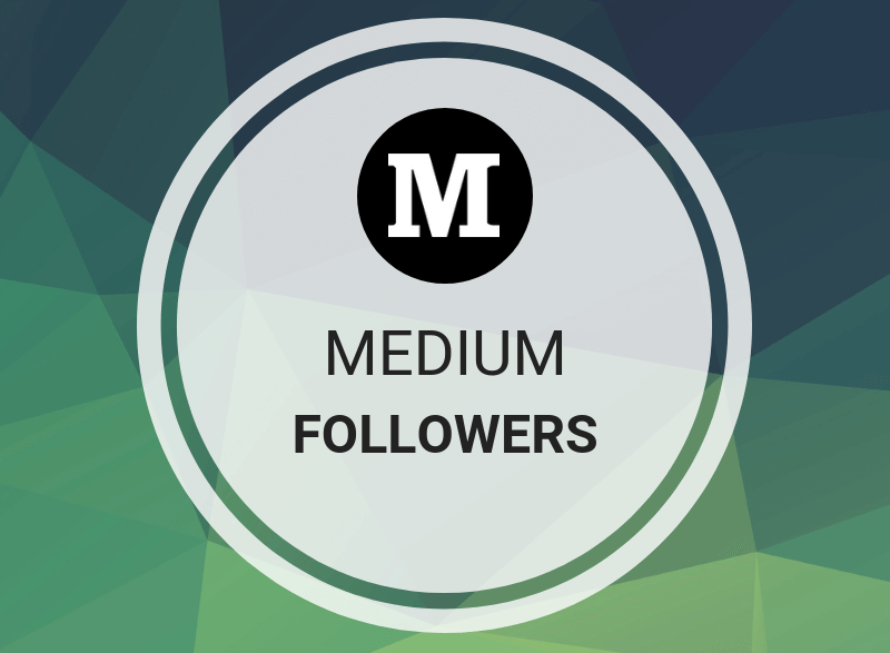 Get Offer 100 Medium Followers for medium profile