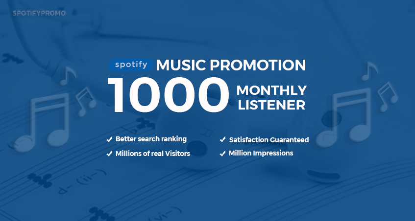 Do 1000 Playlist Track Listener to Boost Streams