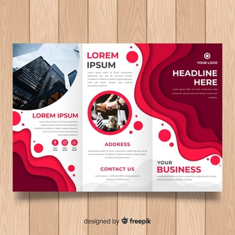 you will get Flyer,  Brochure and poster Design Service