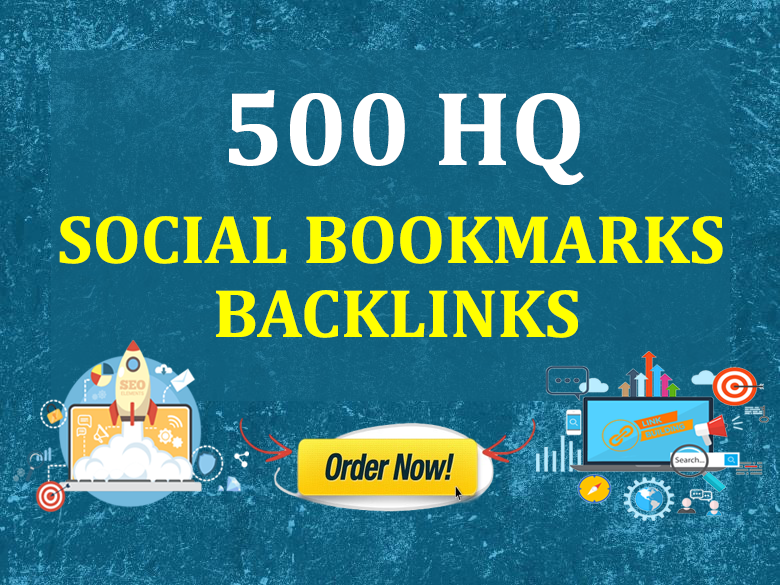Submit Your Website,  Youtube Video,  Product Page,  Services to 500 HQ Social Bookmarking Sites