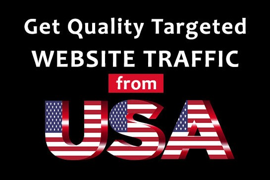 Drive targeted 5000 USA web traffic to website