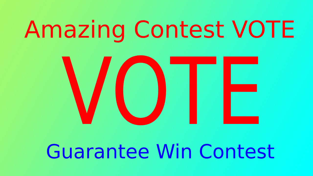 Give You 150 USA different IP, s contest votes Super ...