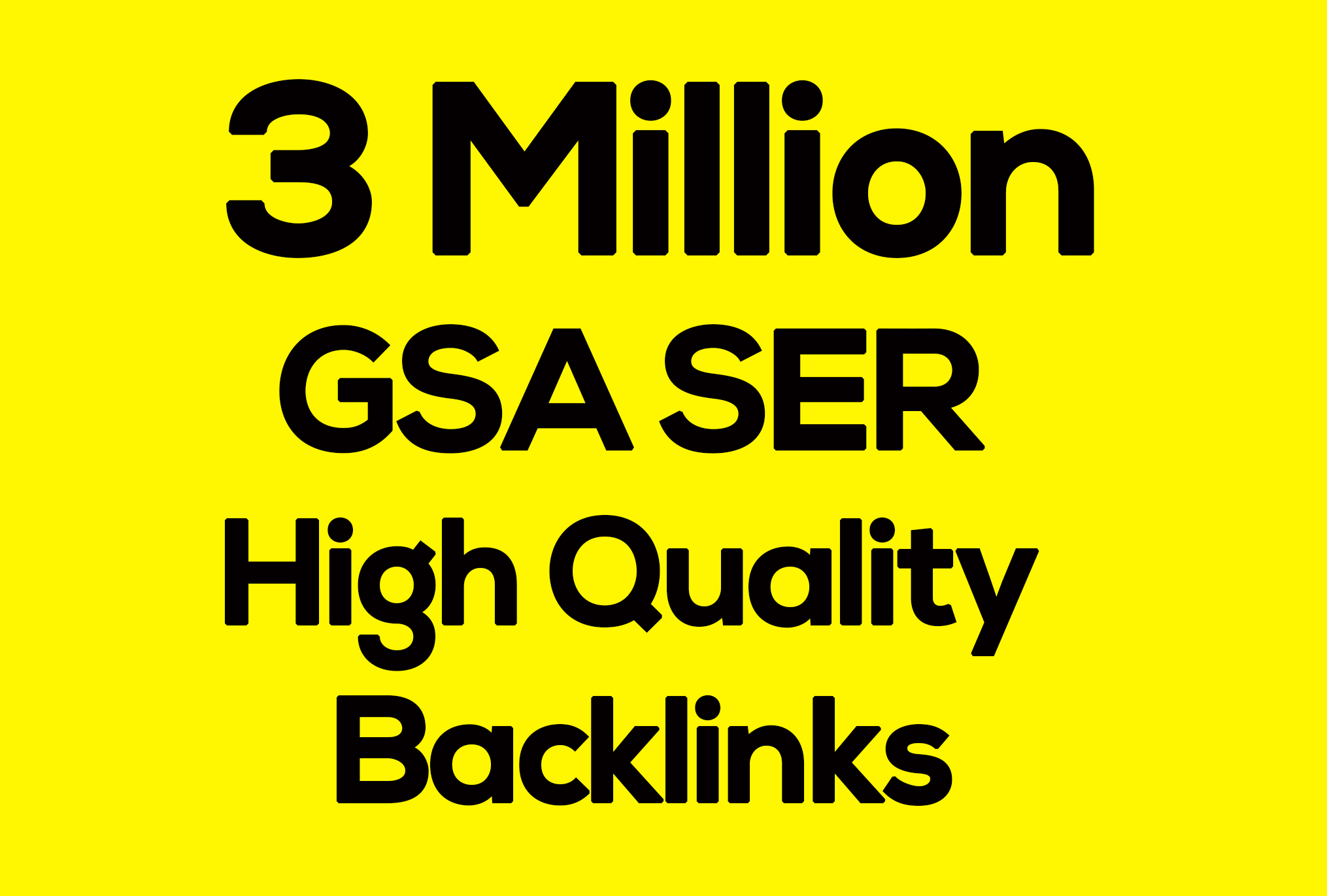 1st page 0n Google Blast 3 Million Seo Verified BACKLINKS Cracking Gsa Ser