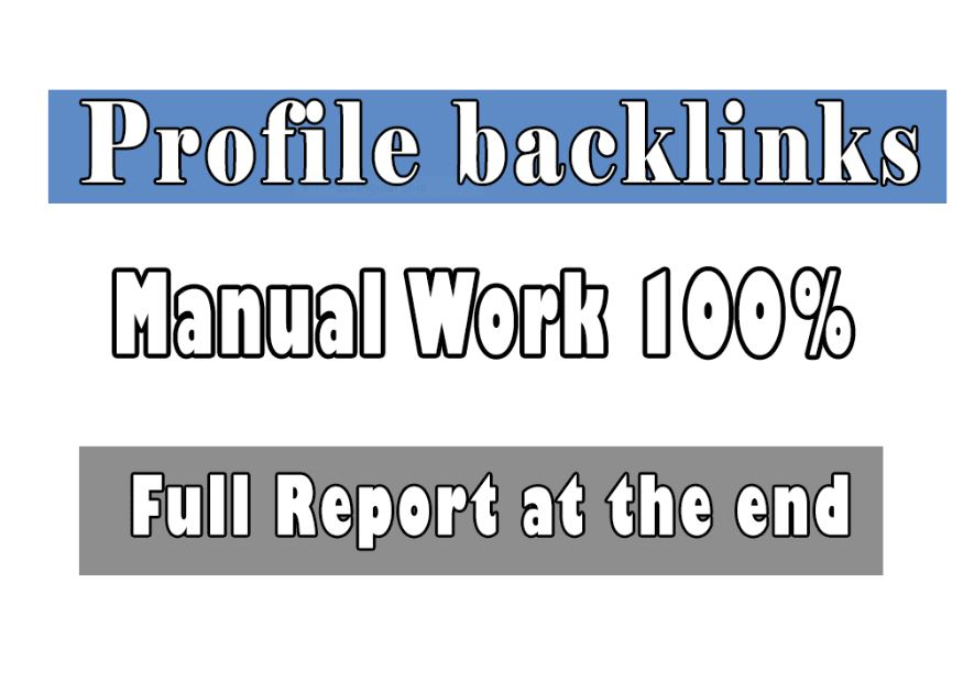 Build Profile Backlinks With High Authority Domains
