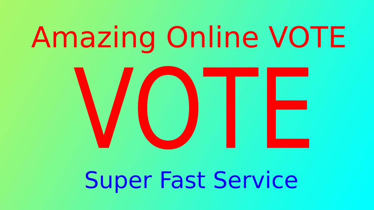 Give You 150 Different IP Votes For Any Online Voting...