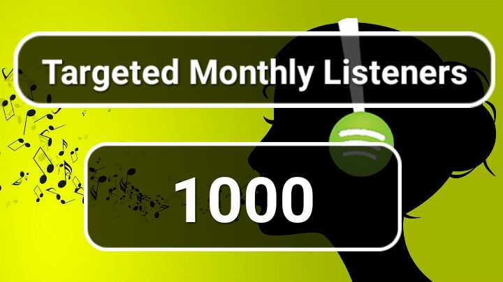 Do Music Track Promotion With Gain monthly listeners