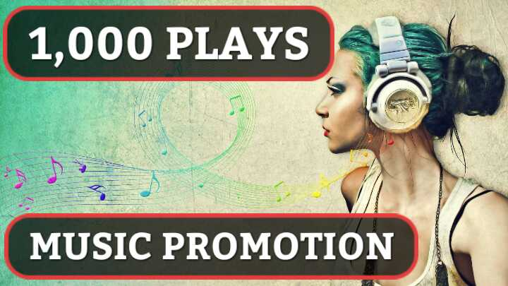 Music promotion 1,000 HQ Real Album Artist Playlist By Unique Listeners