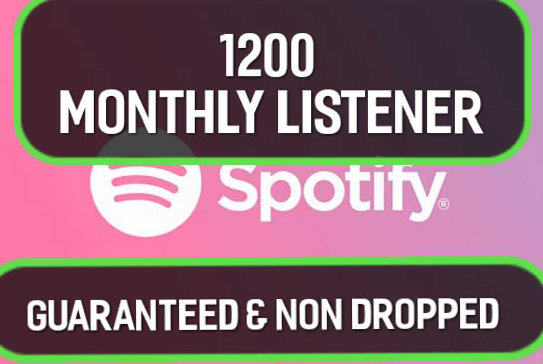 Exclusive 1200+ Monthly Listeners Promotion For Artist Profile