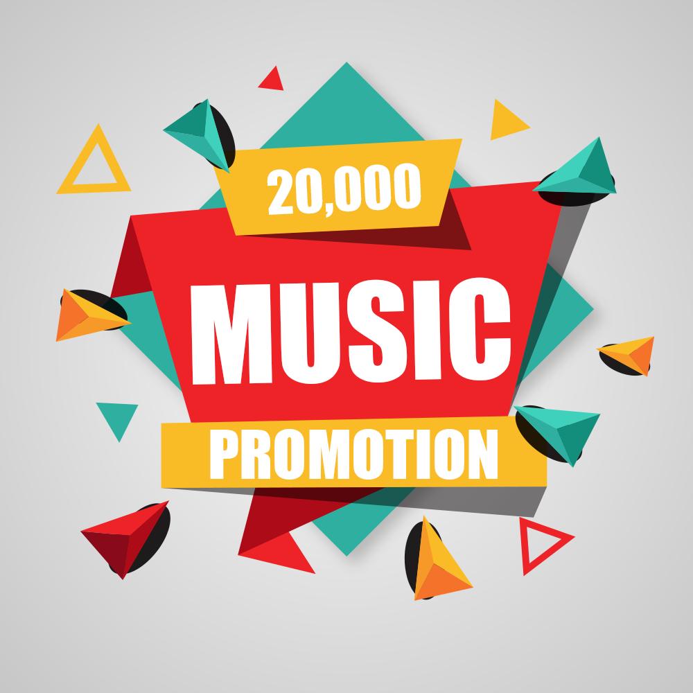 Twenty Thousand Real Music promotion