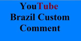 Guaranteed 10 Brazil Custom Comments Super Fast