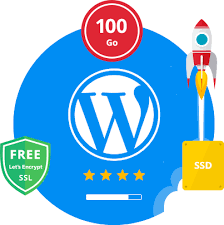 WordPress Cloud Hosting ( SSD ) + FREE SSL