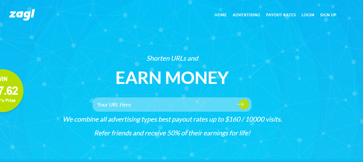 I create shorten URLs website