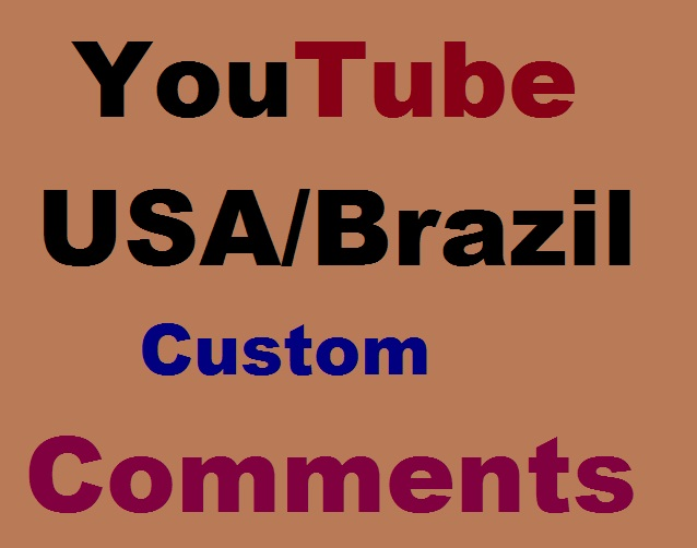 Guaranteed Custom Comments Super Fast And Non Drop
