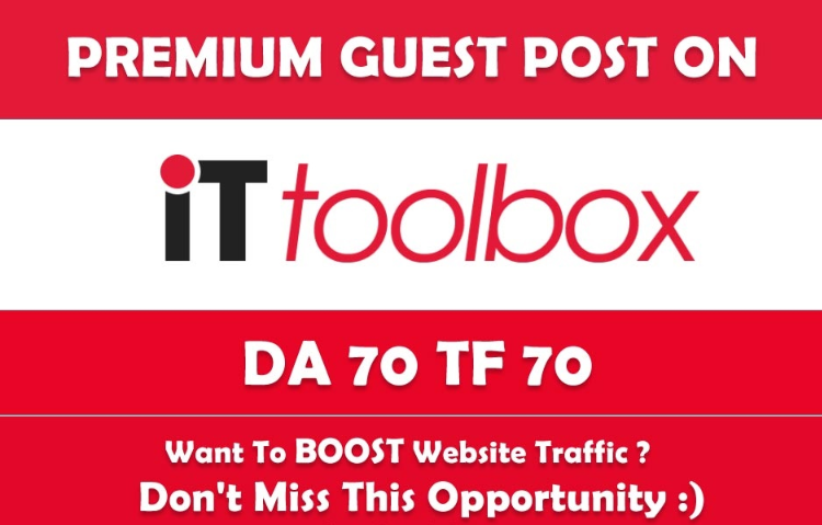 Publish Your Tech Related Content On It. ToolBox. com...