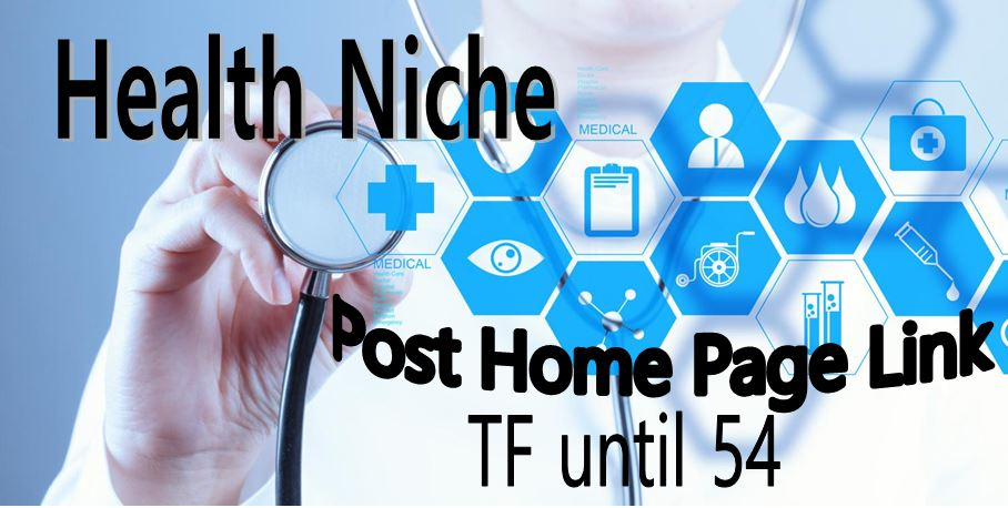 Backlink from High Trust Flow Sites for Health Niche