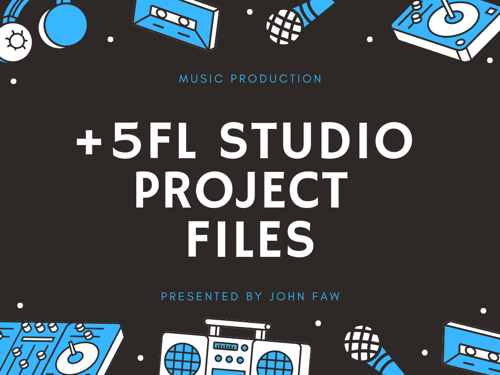Get +5 Professional FL Studio EDM Project Files - Mus...