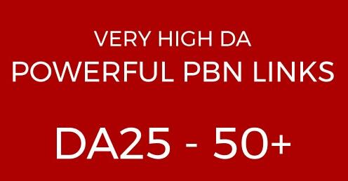 Manual High Da Pa Dofollow Pbn Backlinks