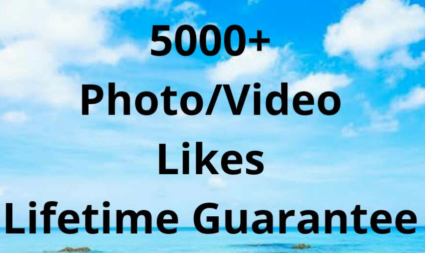 5000+ High Quality Non Drop Social Photo OR Video Promotion