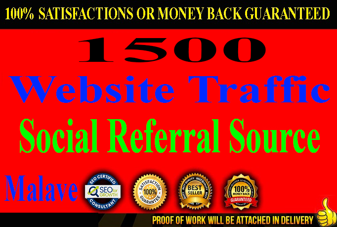 Super Fast 1500 Referral Source Website Traffic