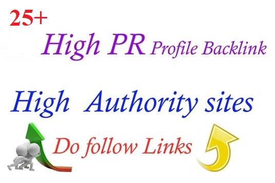 give you 25 Profile Backlinks