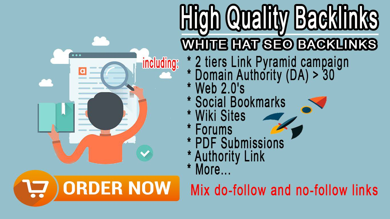 Create a Full Link Building To Your Website with High-Quality Backlinks !!