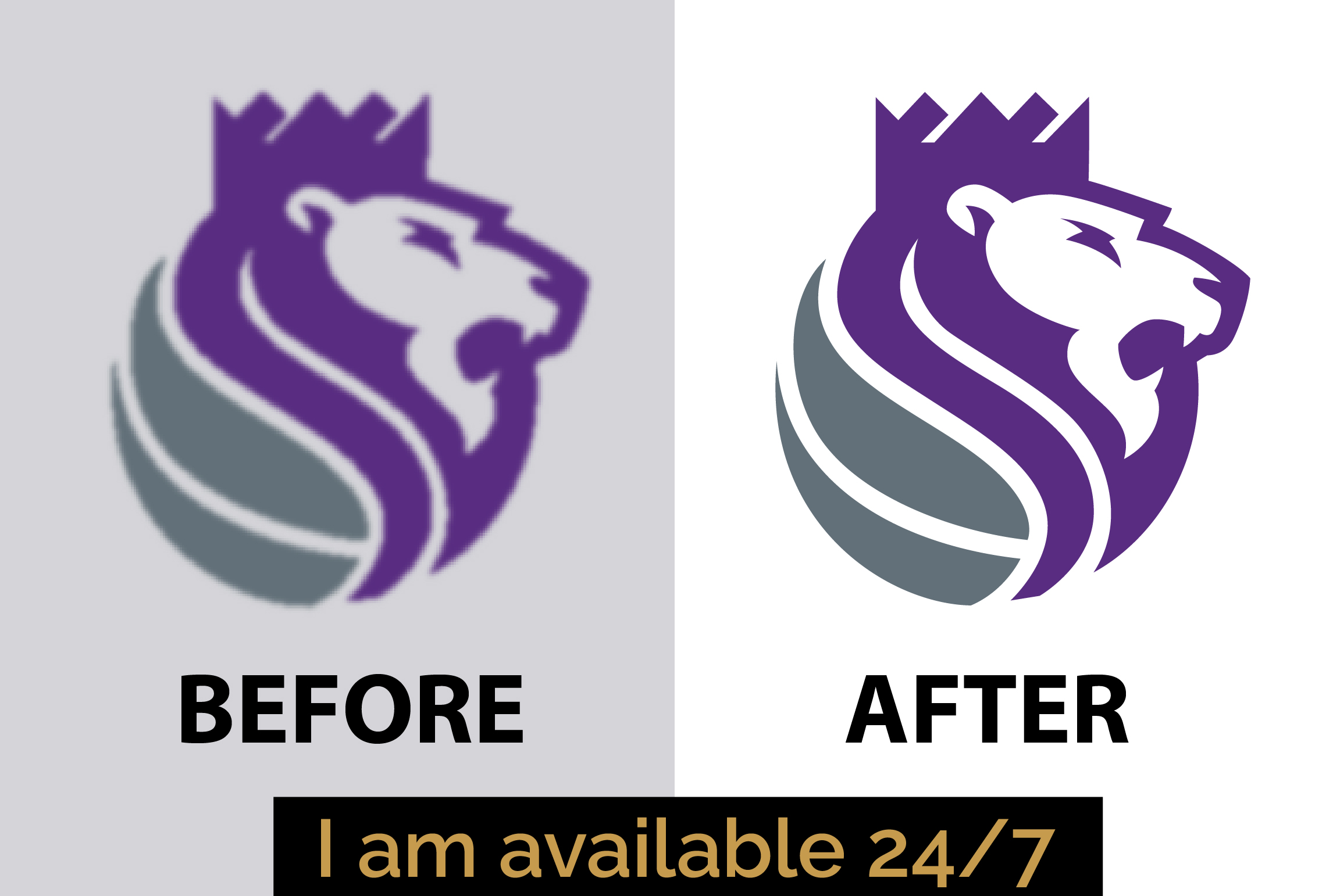 Vectorise or trace your logo to vector