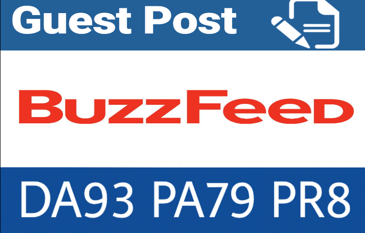 Write & publish guest post on Buzzfeed. com with dofollow backlink
